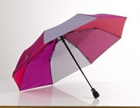 EuroSchirm 'light trek automatic' pink/violett