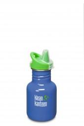 Klean Kanteen Flasche Kid Sippy blau 0,355 L