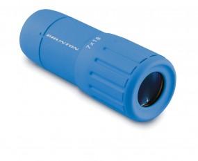 Brunton Fernglas Scope 7 x 18 blau