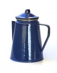 Relags Ersatzdeckel zu Emaille Kaffeekanne blau