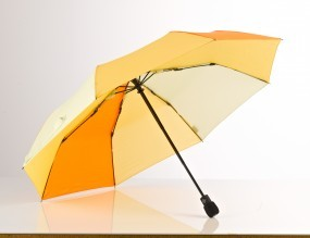 EuroSchirm 'light trek automatic' gelb/orange