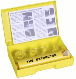 Extractor Vakuumpumpe bei Insektenstichen und Biss