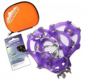 Snowline Schuhketten Chainsen Light Größe M 35 - 39 violett