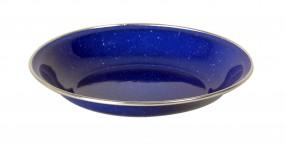 Relags Emaille Teller tief, 20 cm, blau