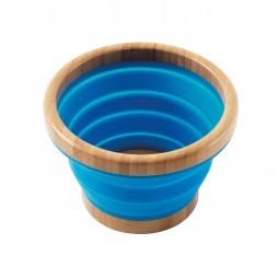 Outwell Schüssel Bambus Collaps L blau